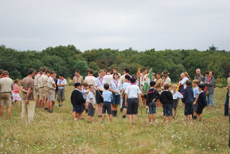 Trois familles scoutes accueillent les jeunes de 8 à 22 ans