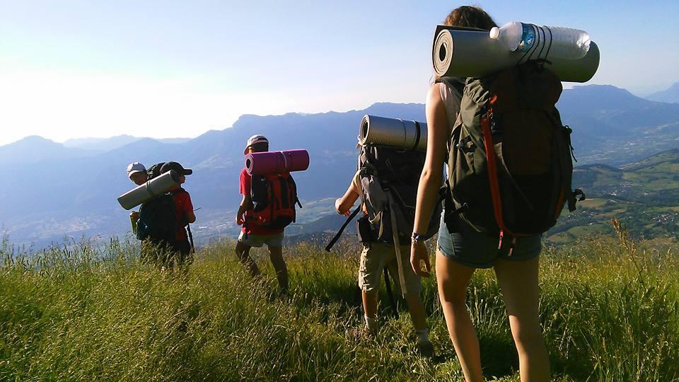 Pour les 6 -17 ans, la joie au sommet, avec la Colonie du Pré de l'Arc (Isère)